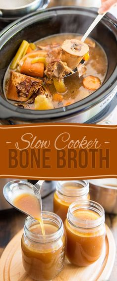 Bone Broth is one of the most nutrient rich and powerful superfoods there is out there! Learn how to make your own in a slow cooker with very minimal efforts on your part!