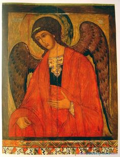 Russian Icon of St. Byzantine Icons, Byzantine Art, Religious Icons, Religious Art, Russian Icons, Archangel Michael, Art Icon, Orthodox Icons, Sacred Art