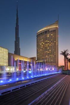 The Address Dubai Mall Hotel   Emaar Boulevard, Down Town Burj Dubai / Business Bay, Dubai.  Top attractions in the area: The Dubai Mall (0.1 Km / 2 min walk) The Dubai Fountain (0.5 Km / 6 min walk) Emirates Towers (2.3 Km / 28 min walk) Jumeirah Beach Park (4.4 Km)