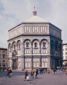 Interior, Baptistery of S. Giovanni. Florence c.1060-1150 #architecture #italy