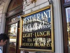 The famous cafe of Le Giubbe Rosse, Florence, Italy