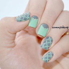 Nailpolis Museum of Nail Art | Pastel nails with caviar pearls by ssunnysideup (Sabrina)