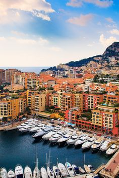 Monaco - Exclusive Parking | Expensive yachts crowd out a ha… | Flickr - Photo Sharing!