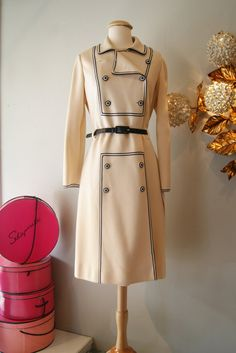 60s Dress Set// Vintage 1960's Italian Knit Mad by xtabayvintage, $198.00