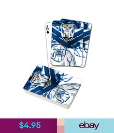43db10c3c05 Rugby League (NRL) Cards Nrl Canterbury Bulldogs Deck Playing Cards Poker  Mascot Cards Christmas Gift  ebay  Lifestyle