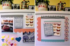 StickyTiger Craft Supplies DIY: Patterned and Printed Fridge Magnets Make Your Own, Make It Yourself, How To Make, Washi Tape, Craft Supplies, Magnets, Cricut, Shapes, Printed