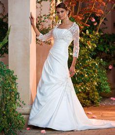 Silver Blue Scoop Satin Bridesmaid Dresses Of A-line | Bridesmaid ...