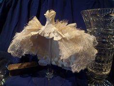 """Art Dress """"The White Peacock"""". £78.50, via Etsy."""