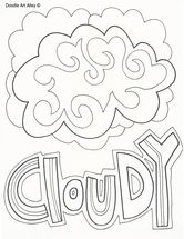 Weather coloring pages | Coloring pages to download and print ...