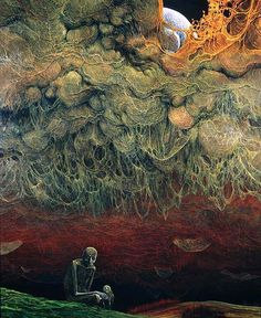 Unknown (1976), by Zdzislaw Beksinski