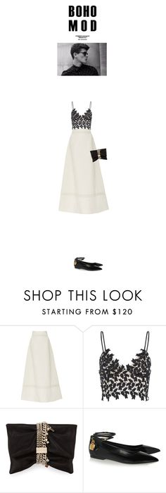 """""""Looking Forward"""" by sandoler ❤ liked on Polyvore featuring Isabel Marant, Jimmy Choo, Tom Ford and blackandwhite"""