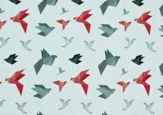 Origami - printti trikoolle Linnel Handmade - Majapuu - design Elina Vaahensalo Origami, Cards, Handmade, Design, Hand Made, Origami Paper, Maps, Playing Cards
