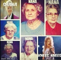 Nana knees!!!