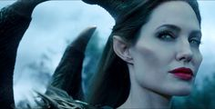 Angelina Jolie in Maleficent movie