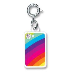 CharmIt Rainbow TouchPhone Charm- $5.00