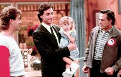 Danny Tanner – Full House  Full House is responsible for gifting us with many treasures. It's where we first met the Olsen twins. It gave us a leather jacket-wearing John Stamos, and we won't evenmention all of the various catchphrases that have stood the test of time, but the best thing Full House gave us was a look at what being a good dad truly meant. Danny Tanner, played by Bob Saget,was a widower with three young girls when the show first aired. Sure, he had his loveable schnook of a…