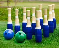 Lawn bowling... um, yeah!!