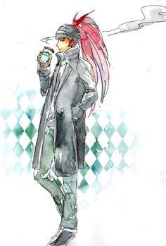 Renji #Bleach Bleach Renji, Kuchiki Rukia, Bleach Fanart, Bleach Anime, Bleach Characters, Fanarts Anime, Shinigami, Good Ol, Pretty Cool