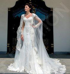 Lace Applique Bridal Wrap