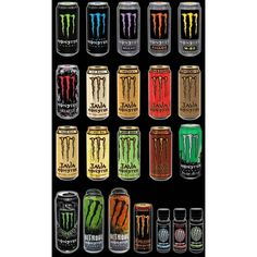Monster Energy Sponsored Athletes - The Barracks |... ❤ liked on Polyvore featuring drinks, monster, food, food and drink and misc