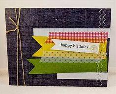 Happy Birthday Handmade Birthday Card for Male or Female