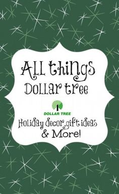 Dollar tree Christmas crafts decor and more!