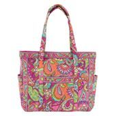 Get Carried Away Tote in Canterberry Magenta | Vera Bradley