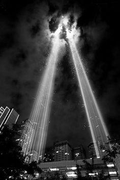 Twin Columns of Light, Ground Zero, NYC, NY