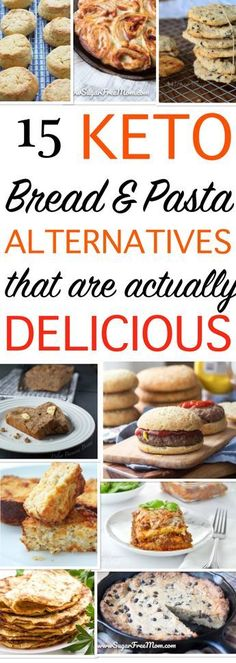 These keto bread, pasta, pancakes and cookie alternatives are amazing whether you are trying to adopt a healthier lifestyle or are just looking to change things up!