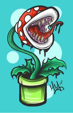 Piranha Plant - Nightmare Mikey