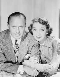 Jack Benny and wife Mary Livingstone
