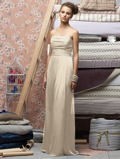 Love this beige bridesmaid dress Beige Bridesmaids 2d61ef94c