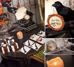 Victorian Halloween Part 2 – Invites & Decor