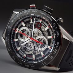 There's no denying the beauty of the Tag Heuer Carrera Heuer 01!