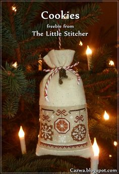 Cookies - The Little Stitcher Freebie
