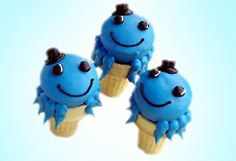 These Oswald Cupcake Cones will definitely earn you cool points as they are two of kids' favorite desserts rolled into one. #NickJr  recipe: http://at.nick.com/198DAkw