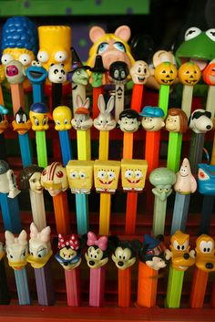 Pez collection by Jonathan!, via Flickr