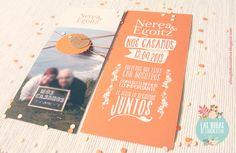 Invitaciones de bodas con fotos · El blog de Laücreativa: LA BODA DE NEREA & EGOITZ  #invitaciondeboda #weddinginvitations #stationery #madeinspain