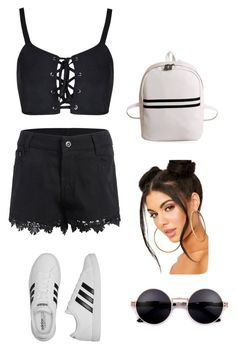 """""""Untitled #2"""" by urtyte-urtyte on Polyvore featuring adidas"""