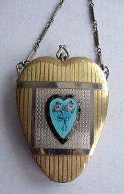 Heart-Shaped Vanity Purse