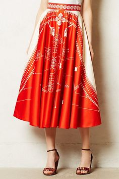 Sundial Skirt via Anthropologie