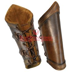 Traditional Leather Bracers - LP0144 from Dark Knight Armoury