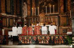 Missa in Festo Pentecostes MMXV, at Gesù e Maria, Rome, Valentin Morariu Photography