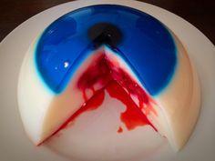 halloween taart oog