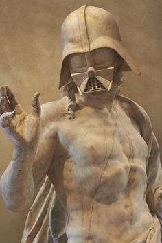 Star Wars Characters Reimagined as Ancient Greek Statues by French Artist Travis Durden