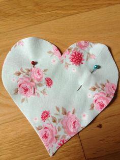 DIY Lavender Hearts