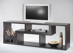 mesa de tv lcd - modular - rack tv - modulo l