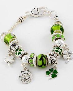 St. Patrick's Day Theme Charm. $17.00
