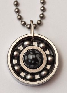 Heat got you beat? Then you'll definitely want a snowflake obsidian jewelry piece! (Full disclosure – it won't actually make you feel colder, but you'll definitely look cool!) Check out this short video about the stone to learn about it's properties: https://youtu.be/DXML69uEL3g #derbygirldesigns #bearingjewelry #jewelrythatrocks #snowflakeobsidian #beattheheat #getridofthatnegativity #byebyebadvibes #helloclearskin #capricorn #virgo #blackandlacey