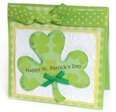 Wish your loved ones the luck of the Irish with a homemade card, or consider making your own invitations if you're throwing a St. Patrick's Day party